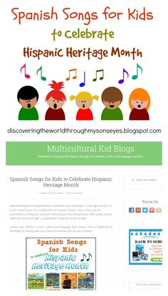 Spanish Songs for Kids - Multicultural Kid Blogs