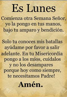 Oraciones God Prayer, Prayer Quotes, Daily Prayer, Bible Verses Quotes, Spanish Inspirational Quotes, Spanish Quotes, Good Morning Messages, Good Morning Quotes, Catholic Prayers In Spanish