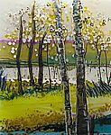 Between Seasons: Alice Benvie Gebhart: Art Glass Wall Art | Artful Home