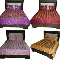 Phulkari Bed Cover Rs.2,999.00  Shop Now: www.jankiphulkari.com