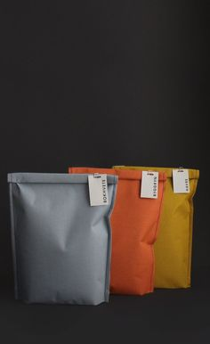 CLOTH BAGS, SEWN EDGES http://www.thedieline.com/blog/2014/12/17/concepts-we-wish-were-real