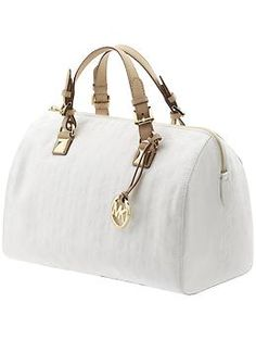 Michael Kors.  love white bags
