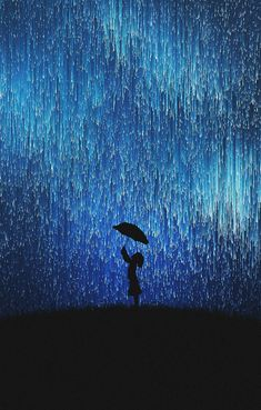 Silhouette rain umbrella Iphone Wallpapers Hd - Best Home Design Ideas Painting Wallpaper, Nature Wallpaper, Wallpaper Backgrounds, Wallpaper Desktop, Girl Wallpaper, Disney Wallpaper, Wallpaper Rain, Wallpaper Quotes, Cute Galaxy Wallpaper