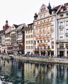 Old town - Lucerne - Switzerland