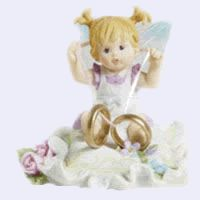 Wedding Ring Fairie- From Series Ten of the My Little Kitchen Fairies collection