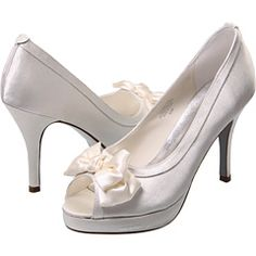 These remind me of Dorothy's shoes, but the silver version.