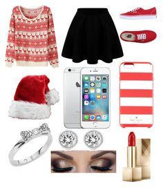 """Untitled #116"" by carlarparks on Polyvore featuring Vans, Kate Spade, Michael Kors and Burberry"