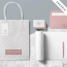 Free PSD Scene Mockup | HeyDesign Graphic Design & Typography Inspiration