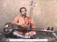 A demonstration of a Tanpura. Oh, how I want a Tanpura!!