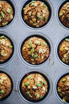 Breakfast Carrot Muffins - Cook Republic Carrot Muffins, Healthy Muffin Recipes, Dairy Free Diet, Baking Muffins, Meal Prep For The Week, Food Print, Carrots, Paleo