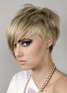 Short Haircuts With Bangs 2016 for Women