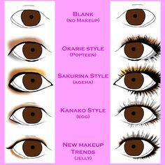 eye makeup for asian eyes monolid - Google Search