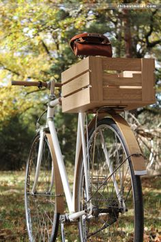 Beautiful Wooden Handlebars and Accessories for your Vintage Cycle — Inspiration Hut - Art and Design Blog