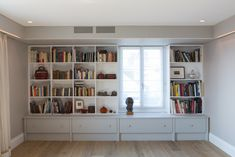 Built in book shelf in a loft - Attique, Nyon – Valentine Bärg Architectures Bookshelves, Bookcase, Geneva, Interior Architecture, Shelf, Loft, Building, Home Decor, Architecture Interior Design