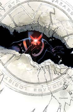 Cyclops (Ciclope) Scott Summers Uncanny X-Men by Chris Bachalo * Dc Comics Vs Marvel, Marvel Comic Books, Marvel Heroes, Comic Books Art, Marvel Xmen, Jean Grey, Comic Book Artists, Comic Artist, Marvel Universe