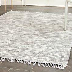 DwellStudio Oxford Indoor/Outdoor Silver Area Rug