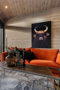 Lounge Areas, Home Renovation, Cottage, Cabin, Couch, Curly Blonde, Curly Bob, Living Room, Interior Design