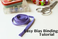 Jennifer Lauren Vintage: Tutorial - How to Make Bias Binding