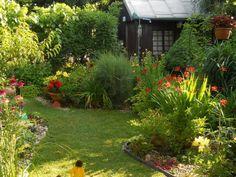 Aj ked je úžasné sucho, záhradka dýcha pokojom