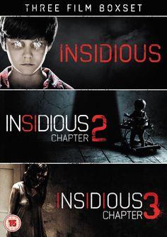 Win The Horror Hits Insidious: Chapter 3 (1-3 Box set) On DVD!