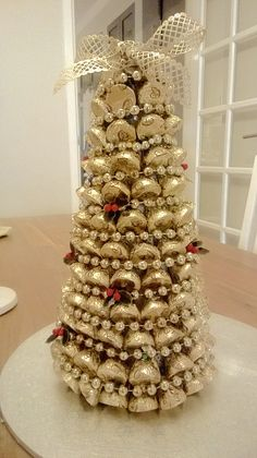 my Hershey Kisses Christmas Tree!