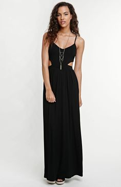 I'm totally getting this ;) black cutout maxi !! Get 5% Cash Back http://studentrate.com/itp/get-itp-student-deals/Pacsun-Student-Discount--/0