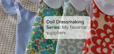 Doll Dressmaking Supplies