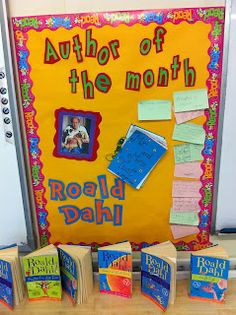 Author of the Month - This September we are celebrating the work of Roald Dahl!