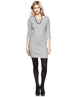 Terry sweatshirt dress | Gap - This dress is one of the greatest gifts in history. How else can I get away with wearing a sweatshirt to work on a normal work day? ...And no pants!  Thanks Marci!
