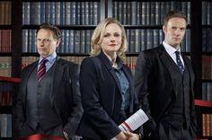 Neil Stuke, Maxine Peake and Rupert Penry-Jones in Silk, 2011-14