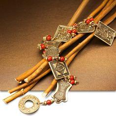 BRONZclay Dynasty Stamp Bracelet  Jewelry Project