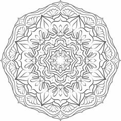 Mandala nr 11 for coloring