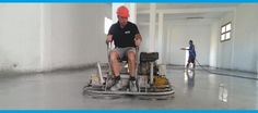 Grinding & Polishing with a Power Trowel - concretefloors.org.uk