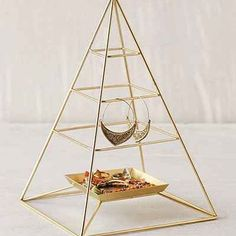 Magical Thinking Pyramid Jewelry Stand - Urban Outfitters