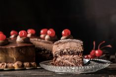 image Party Desserts, Panna Cotta, Deserts, Food And Drink, Sweets, Chocolate, Baking, Ethnic Recipes, Cakes