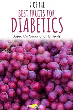 Fruits are the perfect snack. They are loaded with nutrients and fiber, relatively low in calories, and easy to bring to work. However, they do contain naturally occurring sugars, sometimes in large amounts. This can be a concern for those who struggle to manage their blood sugars. This article takes a science-based look at the most suitable fruits for diabetics. #health #diabetics #fruits