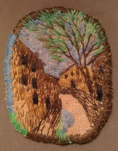"Елена Пинталь ""В переулке"" Plant Fibres, Textile Art, Fiber Art, Textiles, Wool, Sewing, Create, Fabric, Stitches"