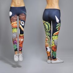 TOUCAN 41 EUR // http://www.shwrm.com/women/clothing/leggings-tights/10737_deep-trip-tukan-p.html