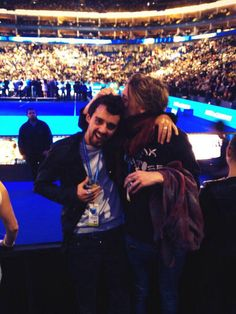 Jamie Campbell Bower being absolutely adorable at ATP Finals with Tristan Marmont. This is one of Jamie's most adorablest moments in my opinion. It makes me smile.