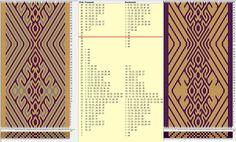 44 tarjetas, 3 / 2 colores, repite cada 36 movimientos // sed_588 diseñado en GTT༺❁