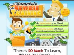 Complete Newbie Training! – 20 Week Intensive Internet Marketing Crash Course!