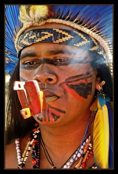 Indios Tupi Guarani.