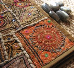 Vintage Indian textile Wall Hanging