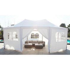 229.99€ ❤ Pour le #Jardin - #MARRAKECH #Tonnelle de jardin / #Tente de réception - 30m² - Dimensions : 5 x 6,5m ➡ https://ad.zanox.com/ppc/?28290640C84663587&ulp=[[http://www.cdiscount.com/maison/jardin-plein-air/marrakech-chapiteau-tente-de-reception-30m2/f-11785020902-at600101white.html?refer=zanoxpb&cid=affil&cm_mmc=zanoxpb-_-userid]]