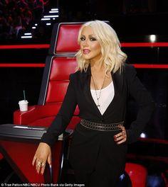 Christina Aguilera performs Nashville song in Roberto Cavalli gown 23372226e38