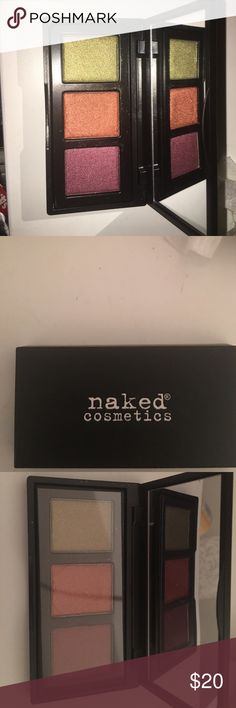 Brand new naked cosmetics eyeshadow Brand new retails for 40 and I am selling for 20 and brand new naked cosmetics Makeup Eyeshadow