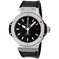 Hublot Big Bang Black Dial Automatic Black Alligator Mens Watch 365.SX.1170.LR  $6,720.00