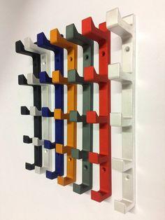 5 in 1 Vertical Wall Hook Heavy duty Coat Hook Modern Decorative Hat Hook Hanger Wall Mounted – Coat Hanger Design Wall Hat Racks, Diy Hat Rack, Coat Hanger Hooks, Hat Hooks, Metal Hangers, Wall Hanger, Cap Rack, Entryway Hooks, Hat Storage