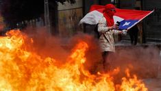 Guess who's stirring mass anti-government protests in Chile? That's right, it's the Russians, at least according to the US' chief diplomat for Latin America. Million March, One In A Million, Chile, Military Rule, Millions Of Dollars, The Eighth Day, Private Sector, Education System, Chili