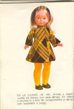 Ropa American Girl, American Girl Clothes, Raggedy Ann, Vestidos Nancy, Nancy Doll, Doll Clothes, Girl Outfits, Hipster, Dolls